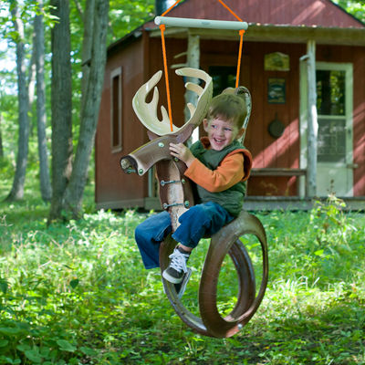 M&M Sales Enterprises Big Buck Tire Swing