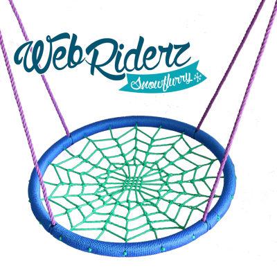 M&M Sales Enterprises Web Riderz Snowflurry Web Swing
