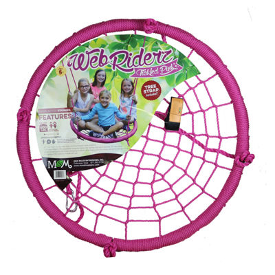 M&M Sales Enterprises Web Riderz Tickled Pink Web Swing