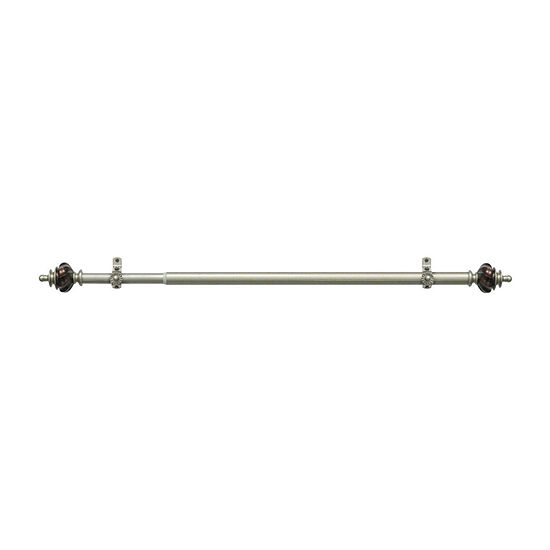 """Camino ¾"""" Adjustable Curtain Rod with Aspen Finial"""