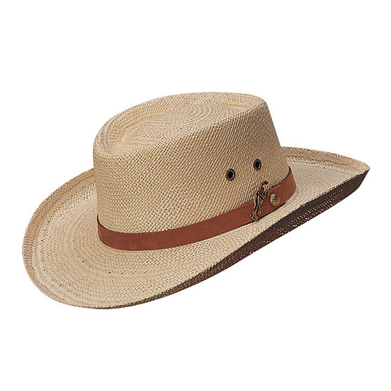 Scala™ Palm Fiber Gambler Hat