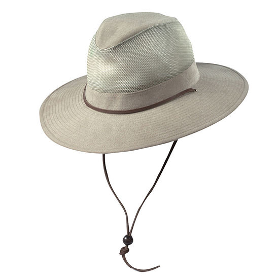 Dorfman Pacific® Twill Mesh Safari Hat