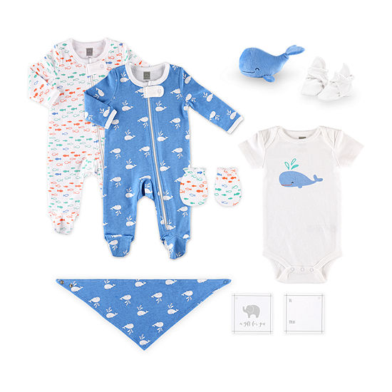 The Peanutshell Baby Boys 10-pc. Baby Clothing Set