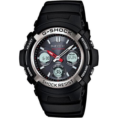 Casio® G-Shock Mens Multi Band 6 Solar Watch AWGM100-1ACR