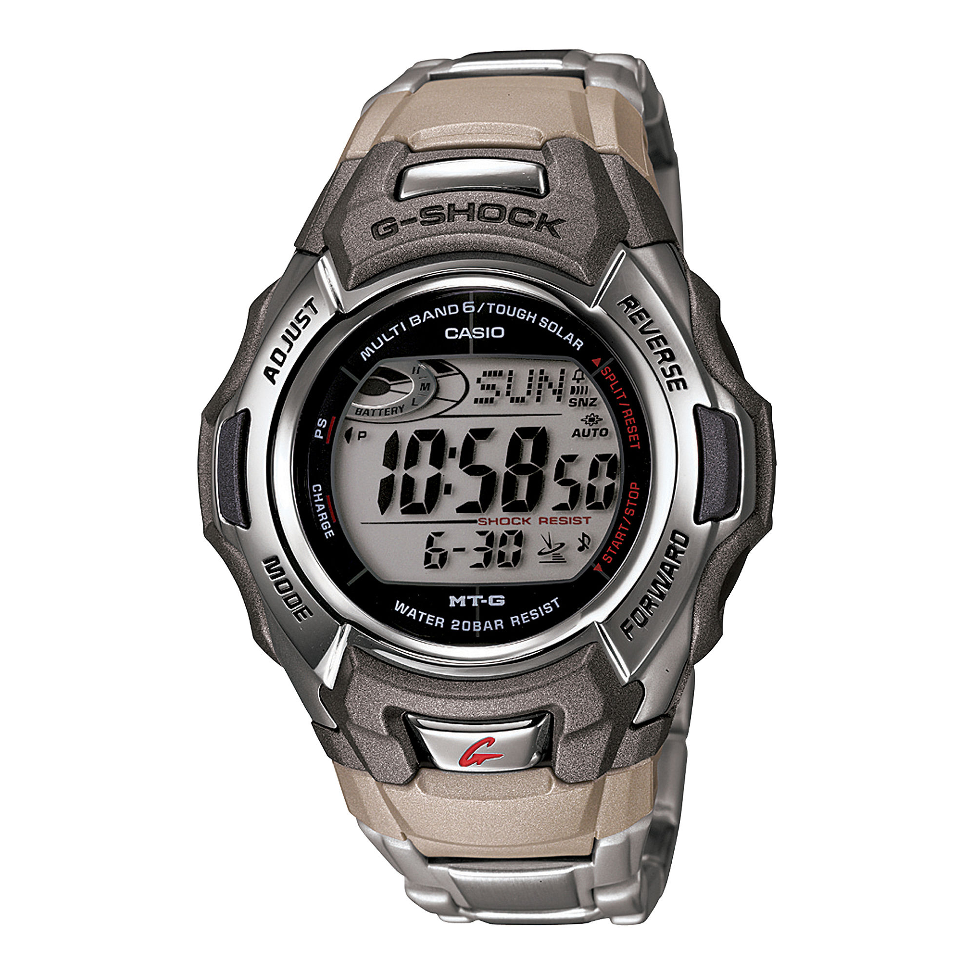 Casio G-Shock Mens Multi-Band 6 Atomic Timekeeping Solar Watch MTGM900DA-8