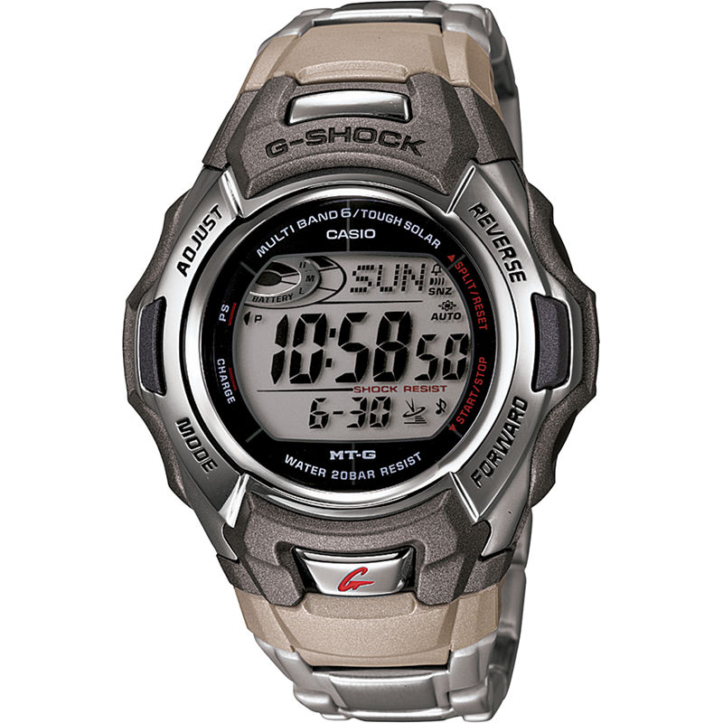 Casio G-Shock Mens Multi-Band 6 Atomic Timekeeping Solar Watch MTGM900DA-8