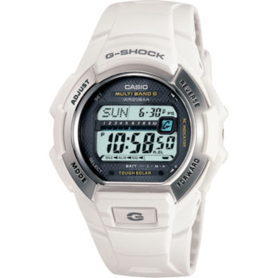 Casio® G-Shock Multi-Band Atomic Time White Solar Watch GW-M850-7JCP