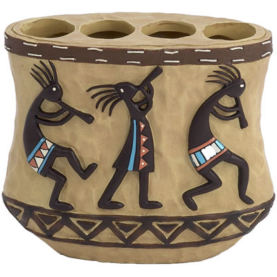 Avanti Kokopelli Toothbrush Holder