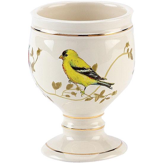 Avanti Gilded Birds Bath Tumbler