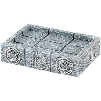 Avanti Galaxy Silver Soap Dish