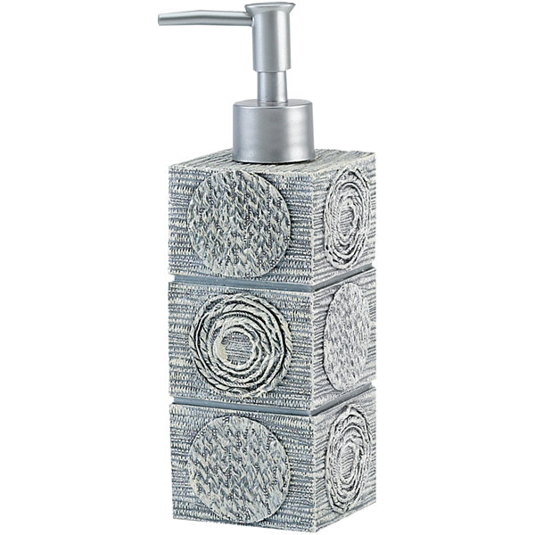 Avanti Galaxy Silver Soap Dispenser