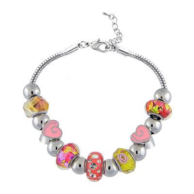 Dazzling Designs™ Multicolor Artisan Bead Bracelet