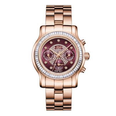 JBW Laurel 18k Rose Gold-Plated 0.09 C.T.W Womens Rose Goldtone Bracelet Watch-J6330g