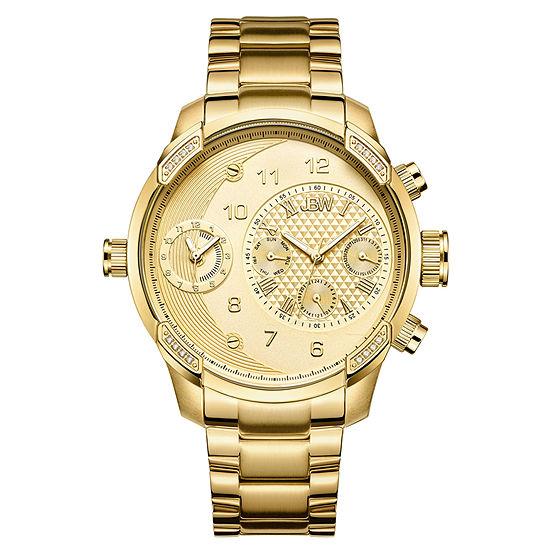 JBW G3 18K Gold Over Stainless Steel 1/6 CT. T.W. Genuine Diamond Bracelet Watch-J6344a