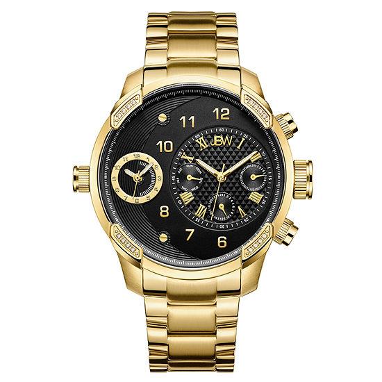 JBW G3 18K Gold Over Stainless Steel 1/6 CT. T.W. Genuine Diamond Bracelet Watch-J6344b