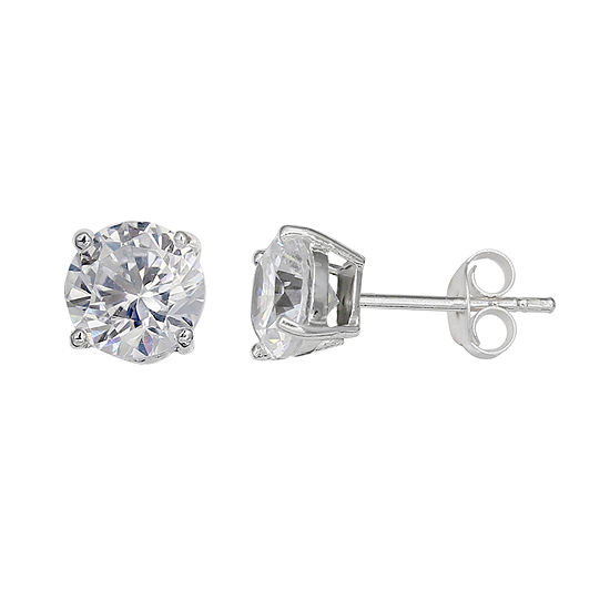 Silver Treasures 5mm Stud Earrings
