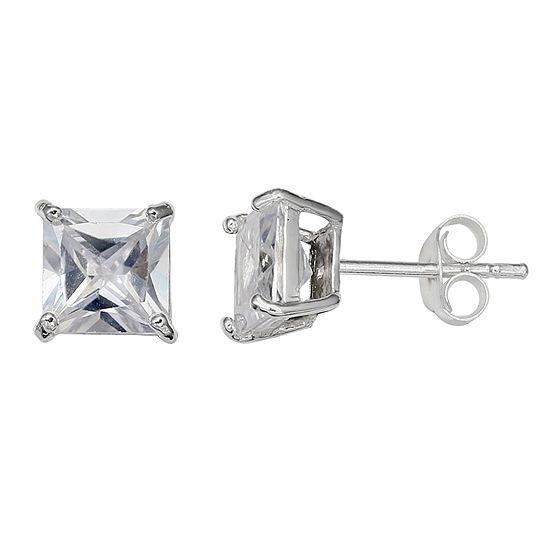 Silver Treasures 6mm Stud Earrings