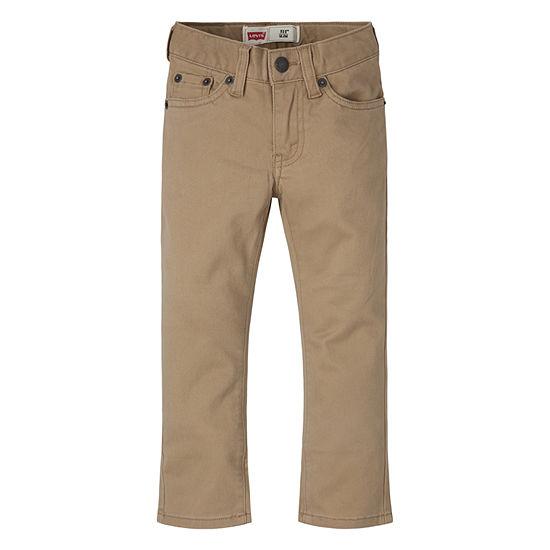 Levi's Boys Slim Pant-Preschool