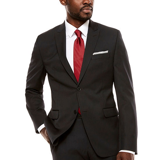 Collection by Michael Strahan  Mens Slim Fit Suit Jacket