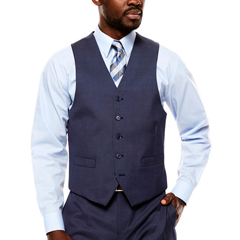 Collection by Michael Strahan  Pin Dot Classic Fit Suit Vest