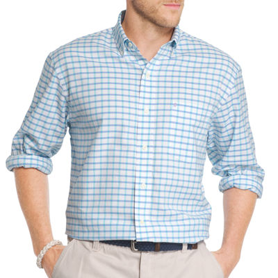 IZOD Saltwater Newport Oxford Button-Front Shirt
