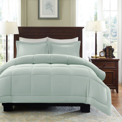 Madison Park Linstrom Microcell Down-Alternative Comforter Set
