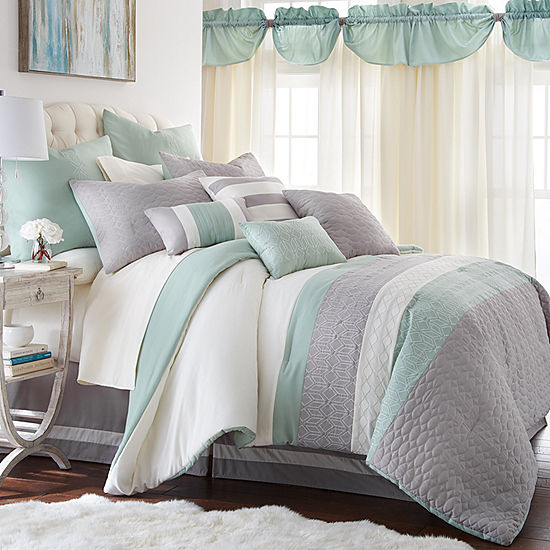 fca3b7b0c8a 24Pc Comforter Sets Palasides Queen JCPenney