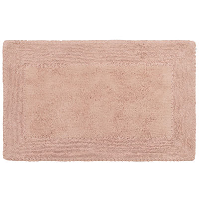 Laura Ashley Cotton Ruffle Bath Rug