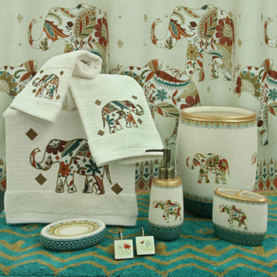 Bacova Guild Boho Elephant Bath Collection
