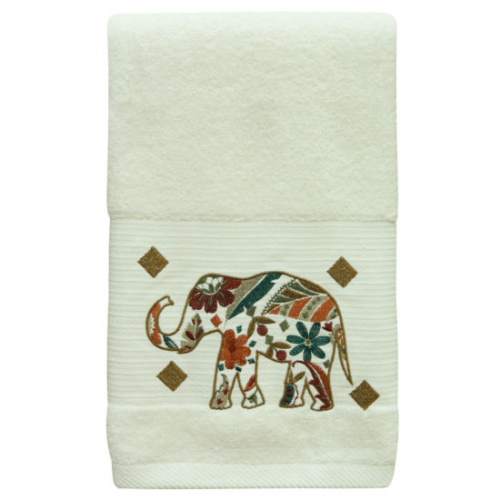 Bacova Guild Boho Elephant Bath Towel Collection