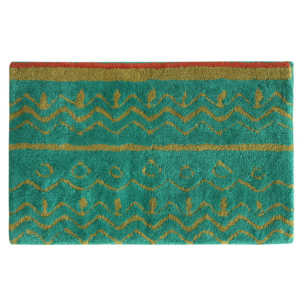 Bacova Guild Boho Elephant Bath Rug