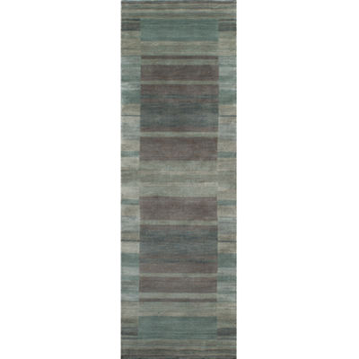 Momeni Gramercy Block Rectangular Runner