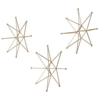 Star Wall Décor (Set Of 3)
