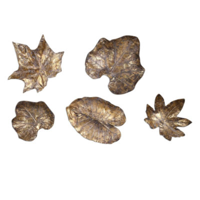 Leaves Wall Décor (Set Of 3)