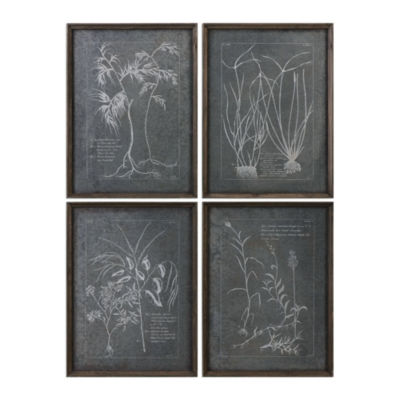 Root Study Wall Art (Set Of 4)