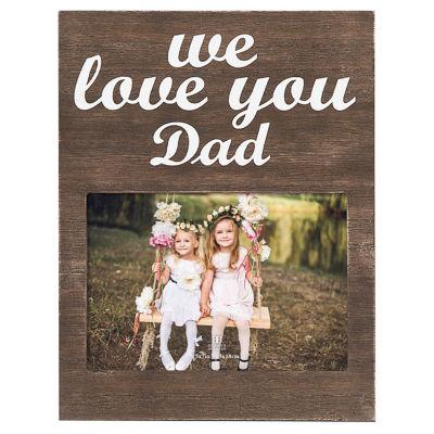 "Burnes of Boston® We Love You Dad 5x7"" Frame"