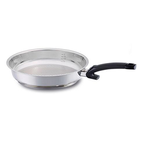 Fissler 10IN Crispy Steelux Comfort Fry Pan