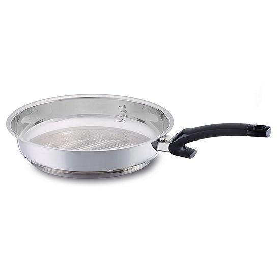 Fissler 12in Crispy Steelux Comfort Fry Pan