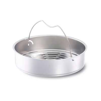 Fissler 22cm Perforated Pressure Cooker Insert with Tripod