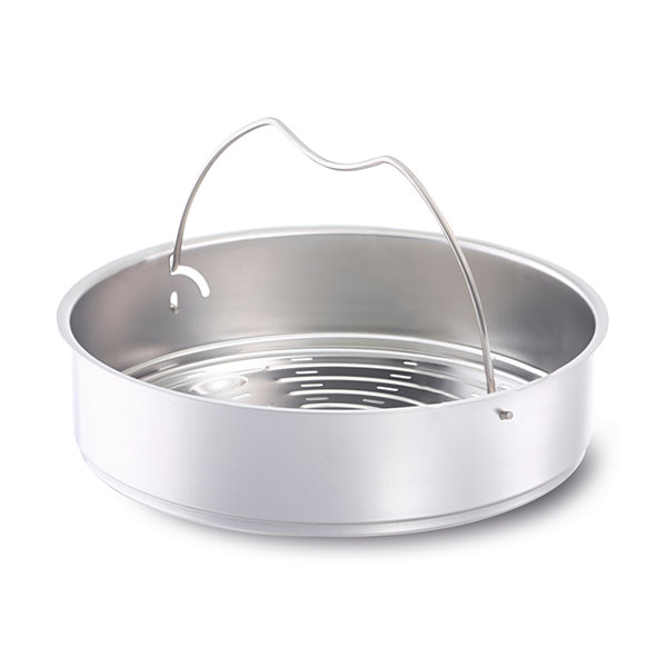 Fissler 26cm Perforated Pressure Cooker Insert with Tripod