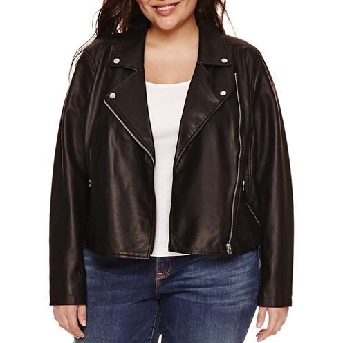 Boutique + Lightweight Motorcycle Jacket-Plus