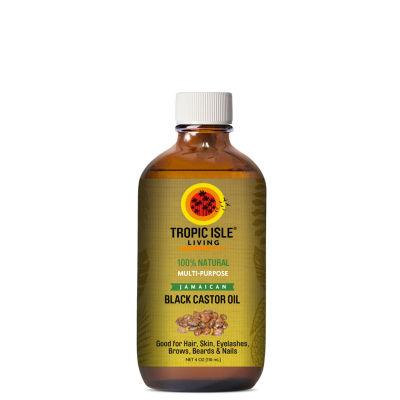 Tropic Isle Jamaican Black Castor Hair Oil - 4 oz.