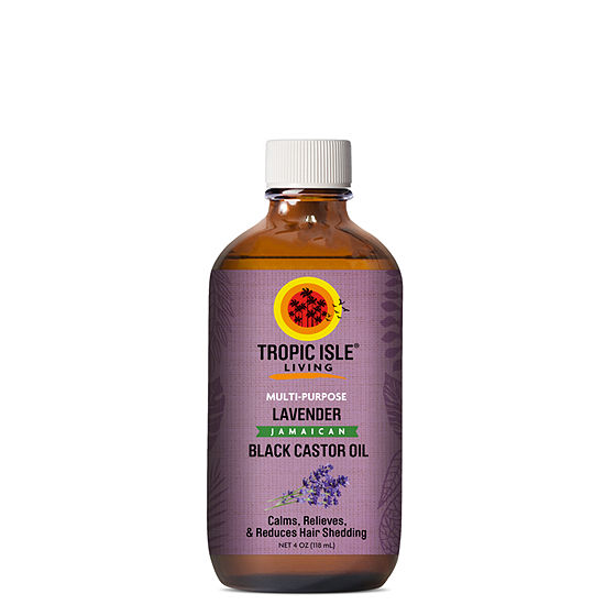 Tropic Isle Lavender Castor Hair Oil - 4 oz.