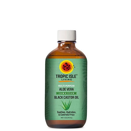 Tropic Isle Aloe Castor Hair Oil - 4 oz.