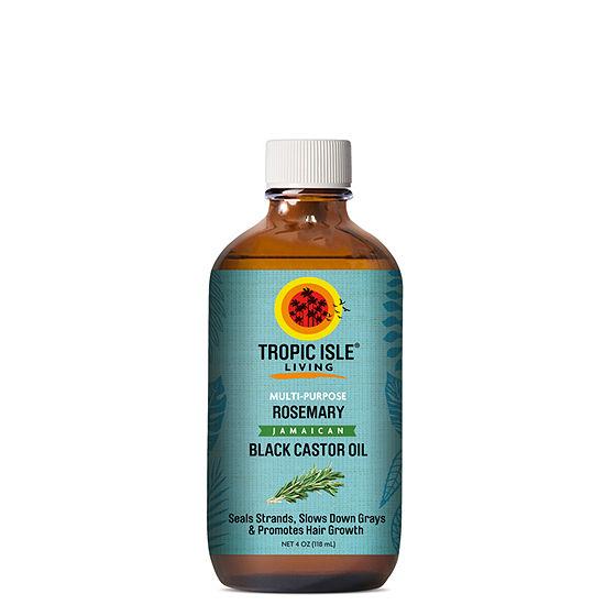 Tropic Isle Rosemary Castor Hair Oil - 4 oz.