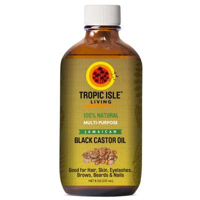 Tropic Isle Jamacian Black Castor Oil Hair Oil - 8 oz.