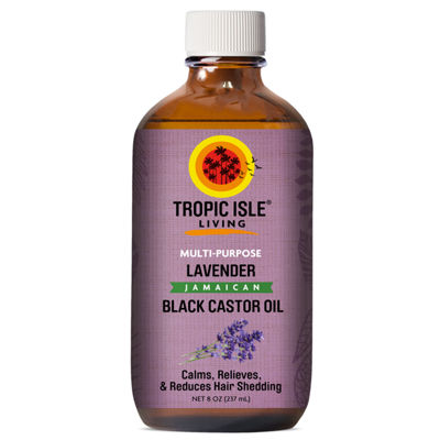 Tropic Isle Lavender Castor Oil Hair Oil - 8 oz.