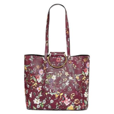T-Shirt & Jeans Floral Tote Bag