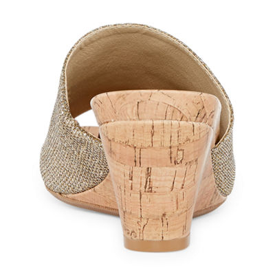 St. John's Bay Womens Addison Wedge Sandals