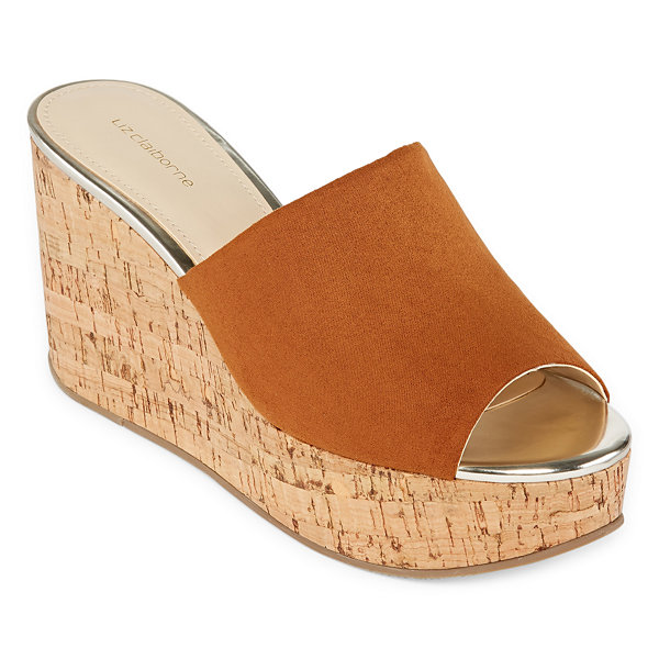 Liz Claiborne Paloma Womens Wedge Sandals
